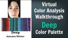 Deep Winter & Deep Autumn Color Palette: Neutral Skin Undertone - Virtua...