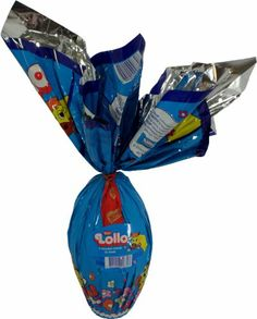 Nestlé - Lollo - Milk Chocolate Stuffed w/ Chocolate and Malt and Filled w/ Bonbons - 9.17oz - 6.5in high (Pack of 01) - Ovo de Páscoa Recheado Chocolate e Malte - #15 - 260g - http://mygourmetgifts.com/nestle-lollo-milk-chocolate-stuffed-w-chocolate-and-malt-and-filled-w-bonbons-9-17oz-6-5in-high-pack-of-01-ovo-de-pascoa-recheado-chocolate-e-malte-15-260g/