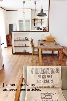 ●カフェ風モデルハウス、ひとまず完成*インテリアコーディネートで気を付けたこと●   ・:*:ナチュラルアンティーク雑貨&家具のお部屋・:*