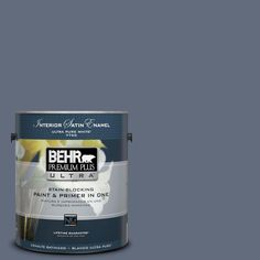 BEHR Premium Plus Ultra 1-gal. #bnc-29 Dark Room Satin Enamel Interior Paint