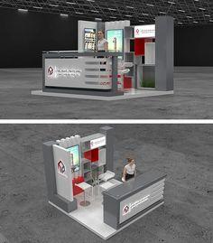 Exhibition Stand In Kuwait : Best big kuwait exhibition stand designing production