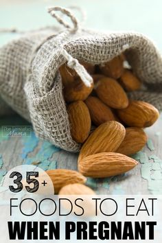 Foods to eat when pregnant to keep both mom and baby healthy and strong. #sp