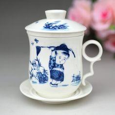 Teacup Jingdezhen ceramic bone China Teacup crack Kung Fu tea sets glass Tea Cup Office Cup Ceramicslife.com