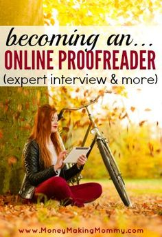 Interested in becoming an online proofreader? Maybe proofreading at home from your iPad or tablet? You can.  #workathome