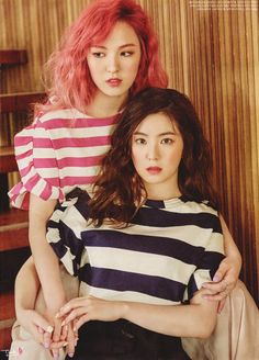 Wendy & Irene (Red Velvet) - High Cut Magazine vol. 171 Cr: think-b