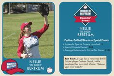 The Office Baseball Cards - Catherine Tate - Nellie Bertram