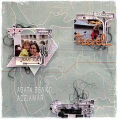 (adzia) mary czary: Travel - inspiracja LO dla Sisterhood of Crafters