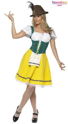 f191b159b22b1 Buy Adult Oktoberfest Ladies Bavarian Costume, available for Next Day  Delivery. Our Adult Oktoberfest Ladies Costume includes Dress with Corset  Style Top ...
