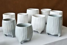 RAGUIN Nicolas. Gorgeous pots. Love those little feet:)