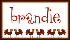 Free Printables: Thanksgiving Place Cards - Home Cooking Memories