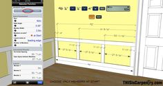 Laying Out Wainscoting with BuildCalc