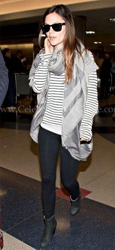 Rachel Bilson Style and Fashion - Rag & Bone Classic Newbury Booties on Celebrity Style Guide