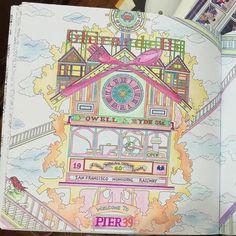 #thetimegarden , #colouringbook , #colouring , #dariasong