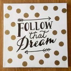 Canvas art Follow that dream