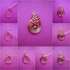 wire jewelry diy - Google Search