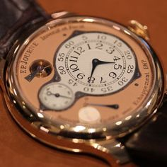 FP Journe Chronometre Optimum Watch: Timekeeping At Its Most Optimal