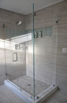 master bath shower doors.