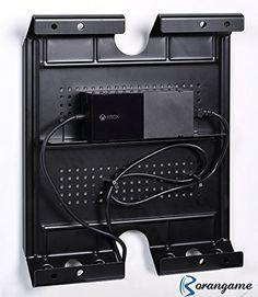 Support Mural Rétroéclaire de Console pour PS4/PS3/Xbox One/Wii U - Horizontal…