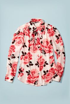 Kate Spade Rose Shirt