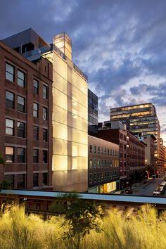 Hôtel Americano near the Hudson River and the notable High Line Park. Photo: Alexander Severin