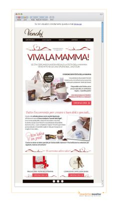 Brand: Venchi | Subject: 2 splendide idee per la festa della mamma (con spedizione gratis!)