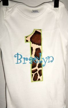 Mud Pie Giraffe  To see more of our cute garments, check out our FB page at www.facebook.com/teddybearboutique