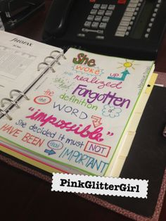 Filofax Tab covers! Quotes!