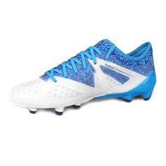 Botines Umbro Velocita III PRO HG - Blanco+Azul Asics, Cleats, Sneakers, Sports, Zapatos, Football Boots, Tennis, Hs Sports, Sport