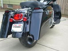 Stretched Bags For Street Glide