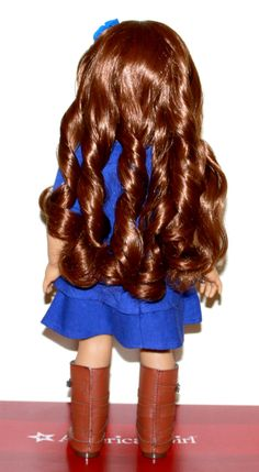 Today's DW Blog Post: Saige's Hair!   We show you the meet hairstyle and then with her hair down.
