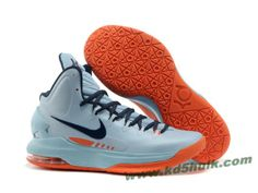 Nike Zoom KD V 5 Blue Orange Basketball Shoes Balance