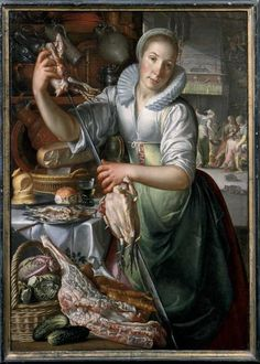 The Kitchenmaid, 1620-25, Centraal Museum Utrecht, Netherlands
