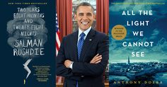 A bestselling author himself, our reader-in-chief, President Barack Obama, is a particularly prolific fiction reader.