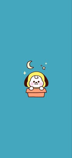 is created by BTS. Chimmy is created by Park Jimin. Friends Wallpaper, Baby Wallpaper, Cartoon Wallpaper, Iphone Wallpaper, Couple Wallpaper, Gif Kawaii, Bt 21, Bts Drawings, Bts Chibi