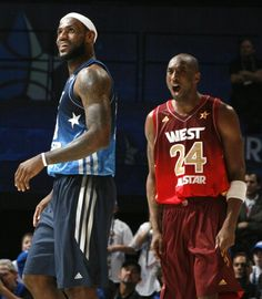 Lebron James and Kobe Bryant Lebron James All Star b3eb6f83c