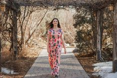 'Forget-me-not' Floral Maxi Dress Salt And Light, Fun Events, Spring Collection, Floral Maxi Dress, Your Girl, Brand New, Pretty, Sweaters, Dresses