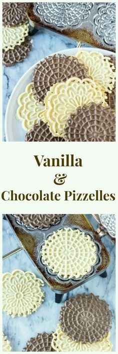 Recipe Chicken Fried Rice - How to Cook Chicken Fried Rice Vanilla And Chocolate Pizzelles Delicious Flat, Round, Italian, Waffle Like Cookies. A Delicious And Easy To Make Christmas Cookie Oreo Dessert, Cookie Desserts, Just Desserts, Cookie Recipes, Delicious Desserts, Dessert Recipes, Italian Desserts, Cookie Table, Italian Foods