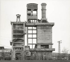 Bernd & Hilla Becher, Industrial Landscapes. 10 Photographs (1968)