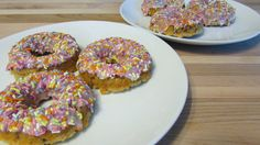 A recipe for gluten free vegan doughnuts that are easy to make and decorate.