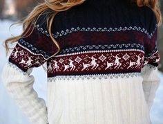 nordic reindeer sweater