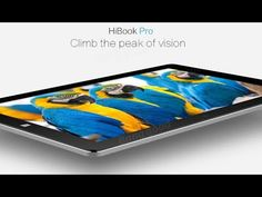 Original Box Chuwi HiBook Pro 64GB Intel X5 Cherry Trail Z8350 Quad Core 10.1 Inch Dual OS Tablet - YouTube