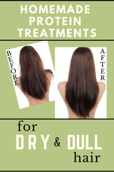 Homemade Protein Treatments for Dry and Dull Hair!