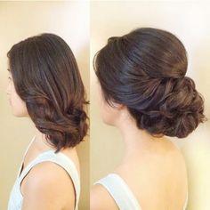 Shoulder length up do