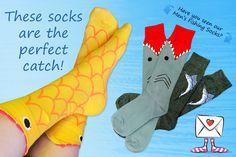 Get Dad a pair of fishing socks!