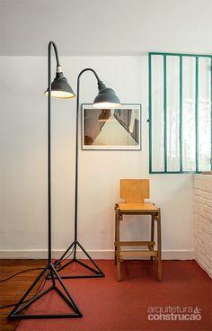 Luminárias reinventam materiais como tubos de PVC - Casa