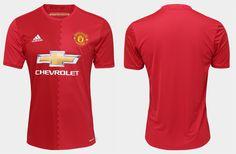 Camisas do Manchester United 2016-2017 Adidas