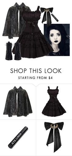 """Gothic Uniform for the School of Dark Magic (Contest)"" by evxnce ❤ liked on Polyvore featuring Oscar de la Renta and Zimmermann"