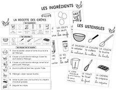 Chandeleur - recette - référentiels French Class, French Lessons, Crepes, Mardi Gras Carnival, Pancake Day, Petite Section, 30 Day Challenge, French Food, Kids Learning