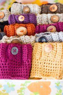 Boot Socks, Crochet Cuff, Leg Warmers - Lots of fun colors -  $22.00, via Etsy.