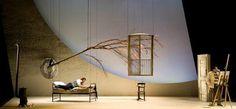 La Boheme. British Youth Opera. Scenic design by Yannis Thavoris.